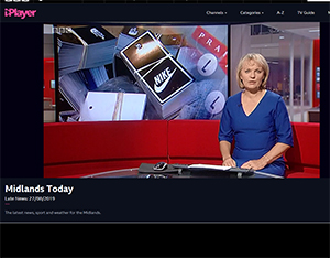 BBC Midlands Today news