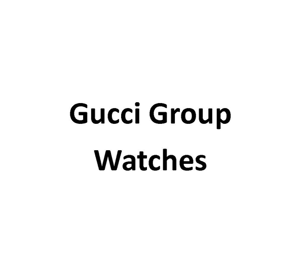 Gucci Group Watches