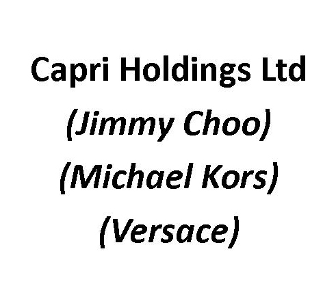 Capri Holdings Ltd